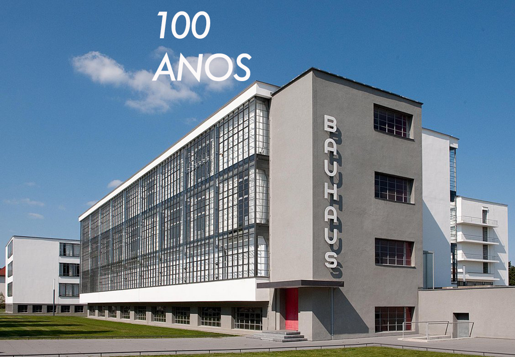 100 anos de Bauhaus – Da década de 20 para o século XXI